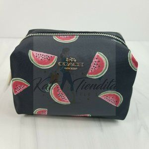 COACH Boxy Cosmetic Case with Watermelon Print All